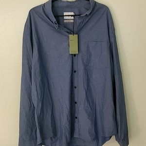 NWT Button Up Slim Fit Shirt